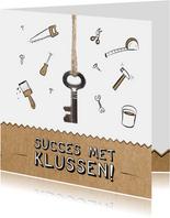 Verhuiskaart voor succes met klussen