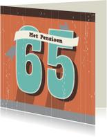 Verjaardag-65 en/of Pensioen-HK
