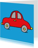 Verjaardagskaarten - verjaardag auto