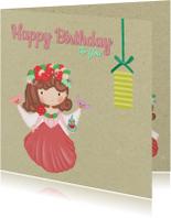 Verjaardag Bloemen Prinses