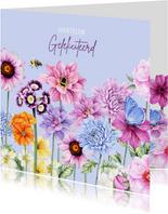 Verjaardag bloemen zomer