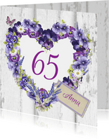 verjaardag bloemenhart leeftijd