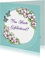 Verjaardag bloesem bloemen - IH