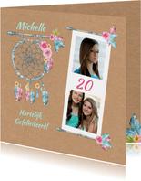 Verjaardag bohemian leeftijd
