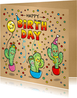 Verjaardag Cactus Fiësta