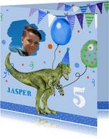 Verjaardag dinosaurus ballonnen