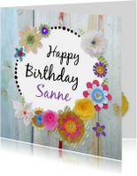 Verjaardag Fleurige dag