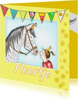 Verjaardag - Floortje's paard