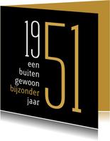 Verjaardag geboorte 1951