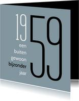 Verjaardag geboorte 1959