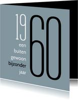 Verjaardag geboorte 1960