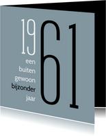 Verjaardag geboorte 1961