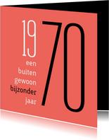 Verjaardag geboorte 1970