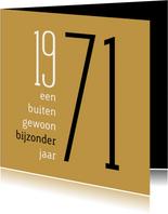 Verjaardag geboorte 1971