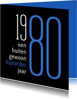 Verjaardag geboorte 1980