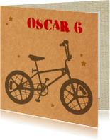 Verjaardag jongen bmx fiets