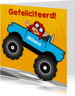 verjaardag kinderfeest monstertruck 2