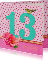 Verjaardag Meisje 13