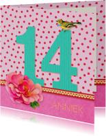 Verjaardag Meisje 14
