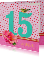 Verjaardag Meisje 15