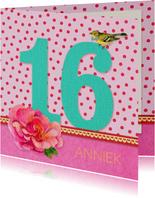 Verjaardag Meisje 16