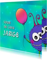 Verjaardag Monshi Ballon - IH