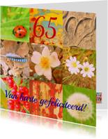 Verjaardag natuurmens  IW