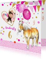 Verjaardag paardje ballonnen