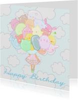 Verjaardag Pastel Beestjes - TbJ