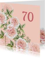 Verjaardag romantische rozen