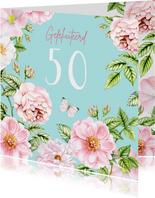 Verjaardag rozen