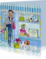 Verjaardag Shoppen Fashion Girl