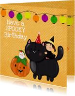 Verjaardag Spooky Birthday