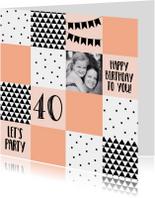 Verjaardag/uitnodiging blok 2-WW