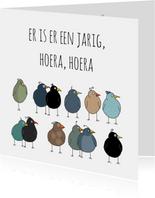 Verjaardag - Vogel, je bent jarig!