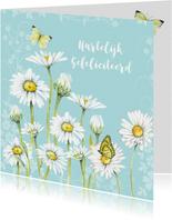 Verjaardag voorjaar margrieten