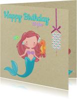 Verjaardag Zeemeermin