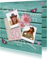 Verjaardagsfeest vrouw party