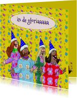 Verjaardagskaart  A capella