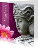 Verjaardagskaart Boeddha KwanYin