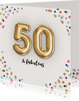 Verjaardagskaart Fabulous-50