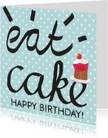 Verjaardagskaart felicitatie hip