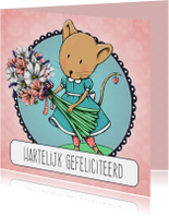 Verjaardagskaarten - Verjaardagskaart Fien Boeket2-IH