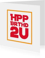 verjaardagskaart HPP -LB