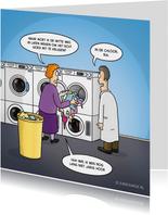 Verjaardagskaarten - Verjaardagskaart met grappige cartoon