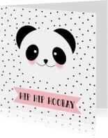 Verjaardagskaart Panda - WW