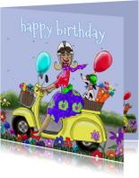 Verjaardagskaart Prachtige dag