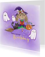 Verjaardagskaart Maple and Chestnut Spoopy Birthday