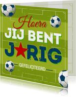 Verjaardagskaart voetbal-PC