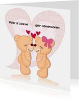 Verliefde beren